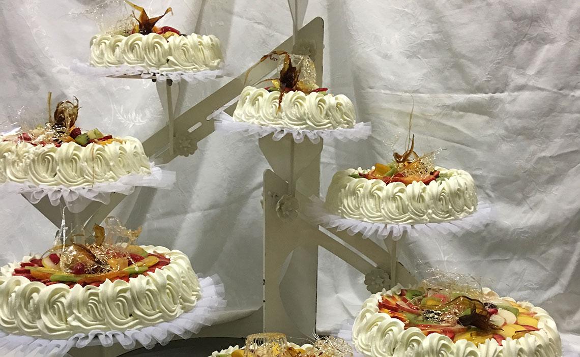 Tarta de boda Doña Bica Verín